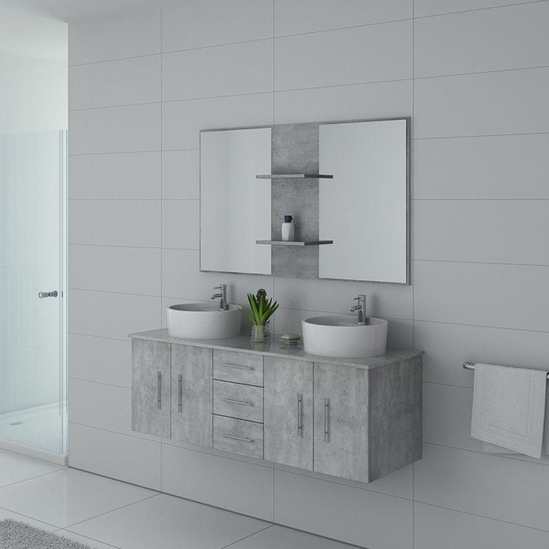 Meuble de salle de bain CARSOLI Béton