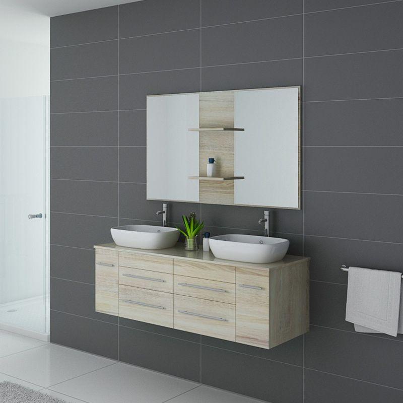 Meuble de salle de bain TRIVENTO Scandinave