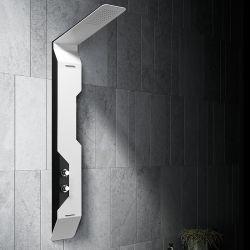 Colonne de douche hydromassante GA001 tête de douchette noire