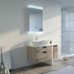 Meuble de salle de bain SCARLINO 1000 Scandinave avec pied
