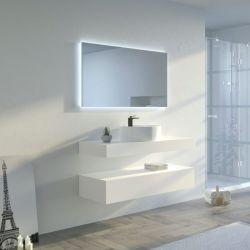 Meuble de salle de bain MANCIANO 1200