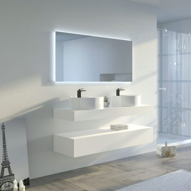 Meuble de salle de bain MANCIANO 1400