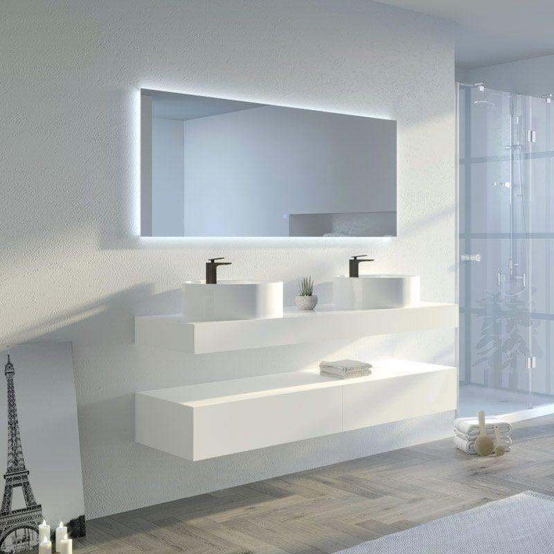 Meuble de salle de bain MANCIANO 1600