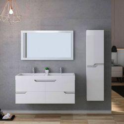 Interrupteur tactile rétro-éclairé meuble CALABRO 1200 Blanc