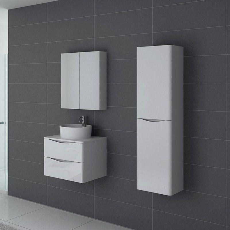 Meuble de salle de bain Terranova 600 Blanc