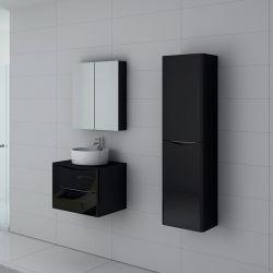 Meuble de salle de bain Terranova 600 Noir