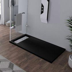 Receveur de douche rectangulaire Noir 140x80cm