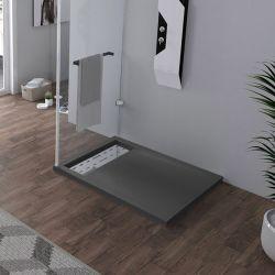 Receveur de douche à l'italienne 100x80cm