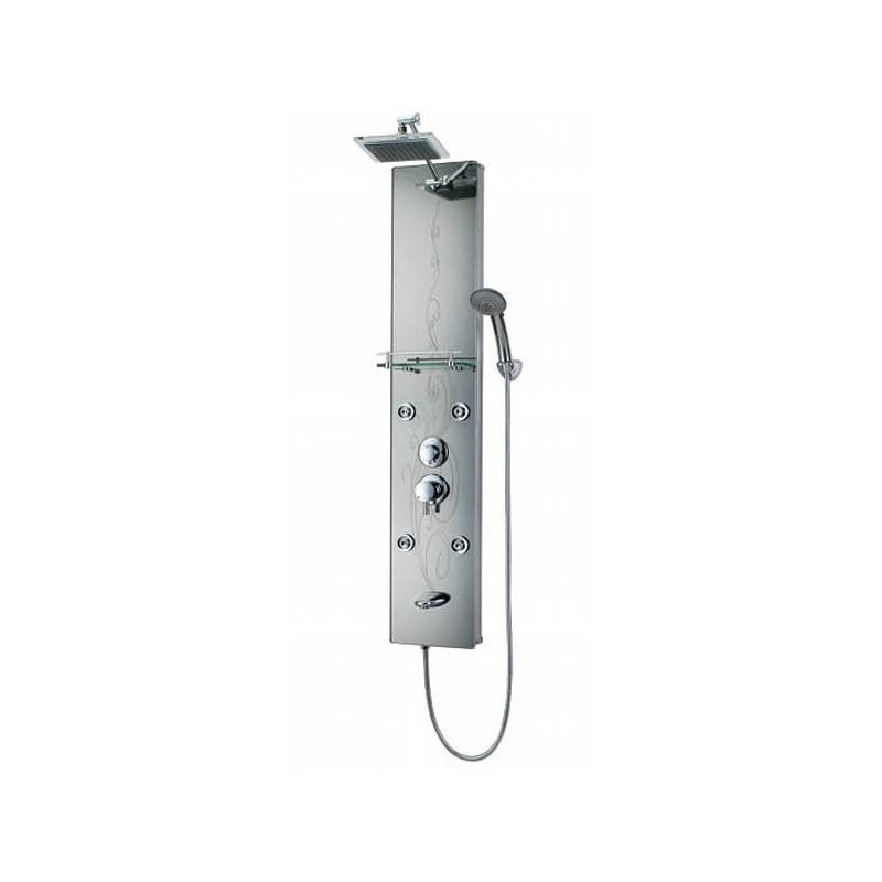 Colonne de douche en aluminium sérigraphié G-7864A