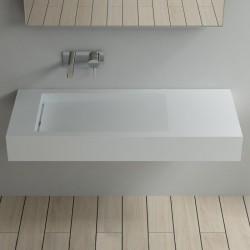 Plan vasque suspendu pour robinet mural SDPW12-B