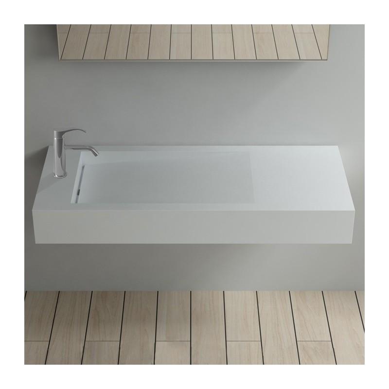 Plan vasque SDPW12-BS perçé pour robinet mitigeur