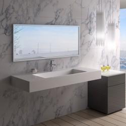 SDPW15 est un large plan vasque en toute simplicité
