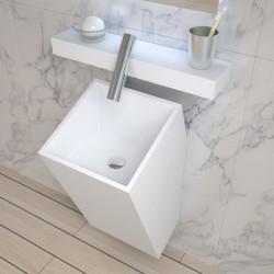 Vasque totem carrée suspendue SDPW23