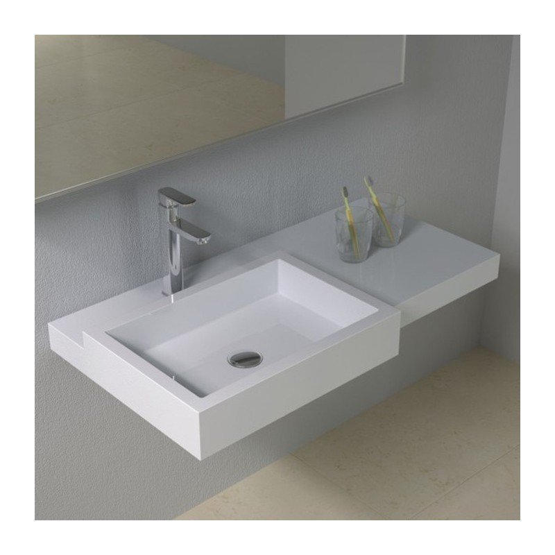 Plan vasque en solid surface SDPW48