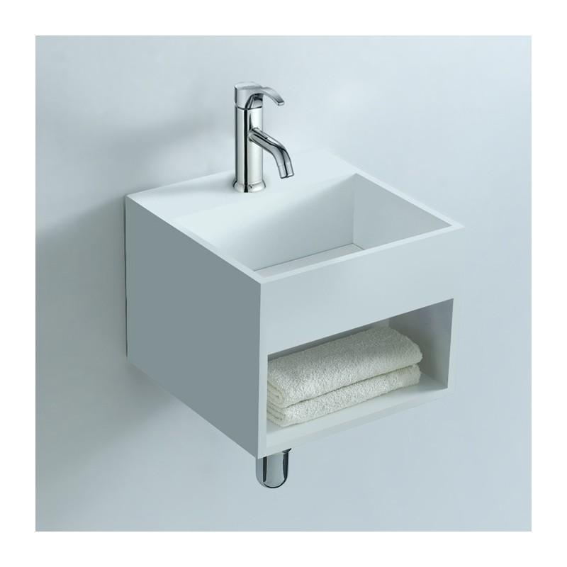 lave main cube avec rangement lave main cube en solid surface lave main mural sdwd3835. Black Bedroom Furniture Sets. Home Design Ideas