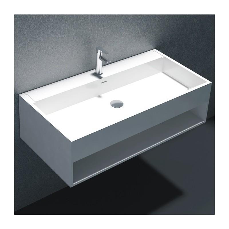 Lave-mains suspendu SDWD38160 avec espace de rangement