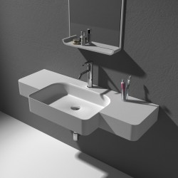 Plan vasque SDWD38189 vue du haut