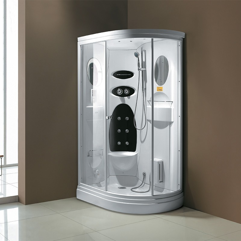 cabine de douche de luxe hammam g niagara cabine de douche d 39 angle 224x120 distribain. Black Bedroom Furniture Sets. Home Design Ideas