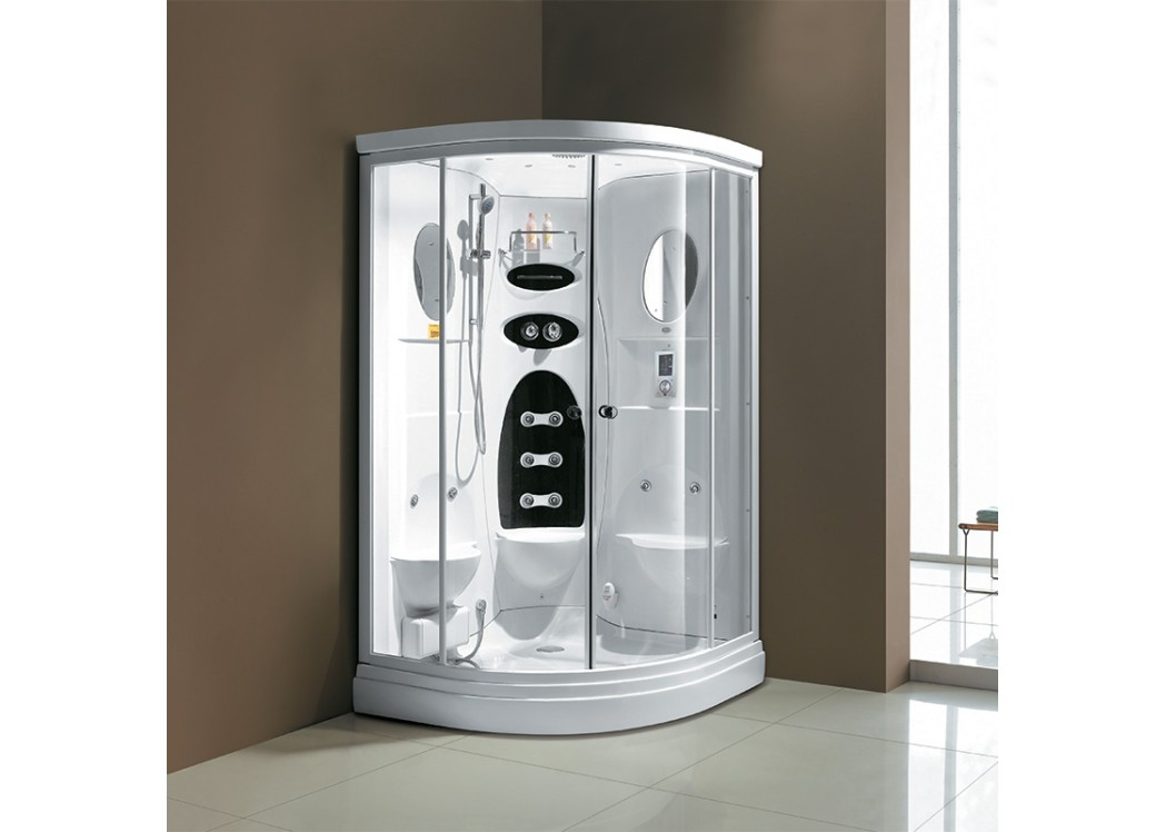 cabine de douche hammam pour deux personnes cancun. Black Bedroom Furniture Sets. Home Design Ideas