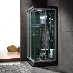 Black Swan : cabine de douche noire, performante