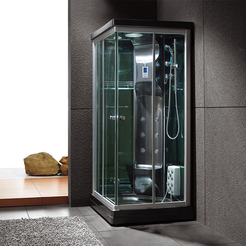 cabine de douche hammam 90x90 black swan douche hammam 90x90 avec si ge distribain. Black Bedroom Furniture Sets. Home Design Ideas