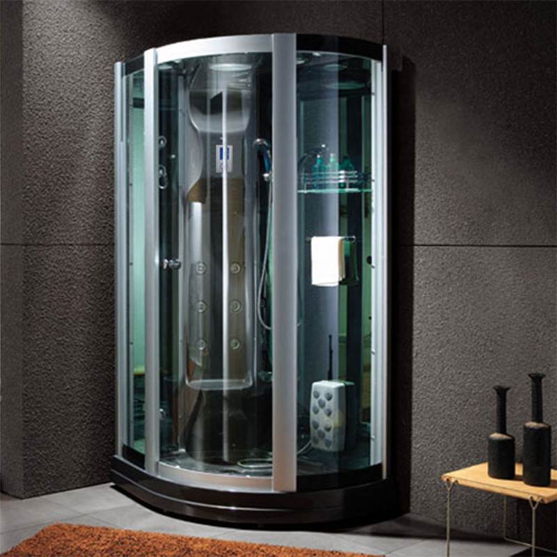 cabine de douche int grale avec si ge g riviera black cabine de douche avec assise distribain. Black Bedroom Furniture Sets. Home Design Ideas