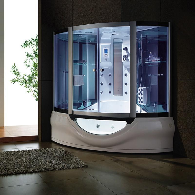 baignoire et douche baln o tahiti baignoire et douche int gr e 160x160 distribain. Black Bedroom Furniture Sets. Home Design Ideas