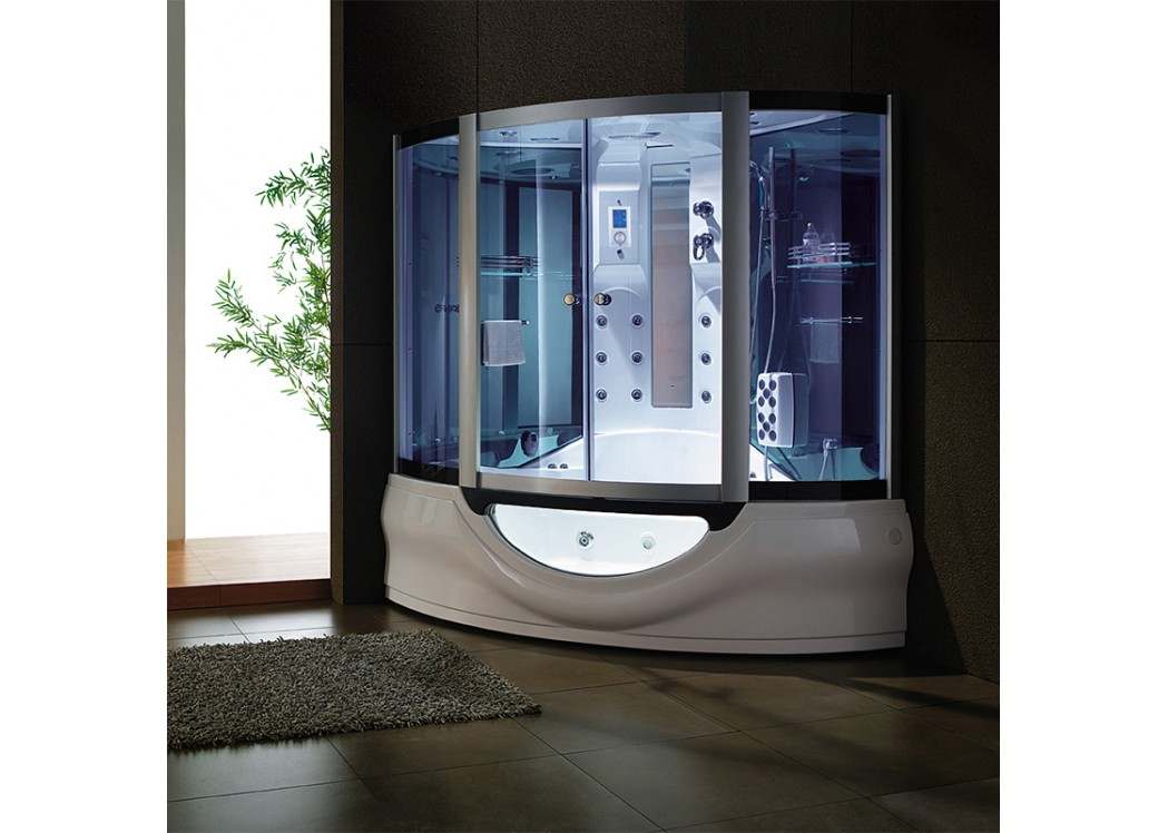 combidouche hammam de luxe tahiti. Black Bedroom Furniture Sets. Home Design Ideas