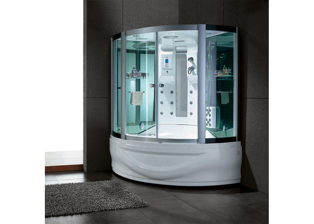 combin douche et baignoire d 39 angle capri combin bain et. Black Bedroom Furniture Sets. Home Design Ideas