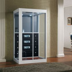 Cabine de douche design avec grand miroir Karera