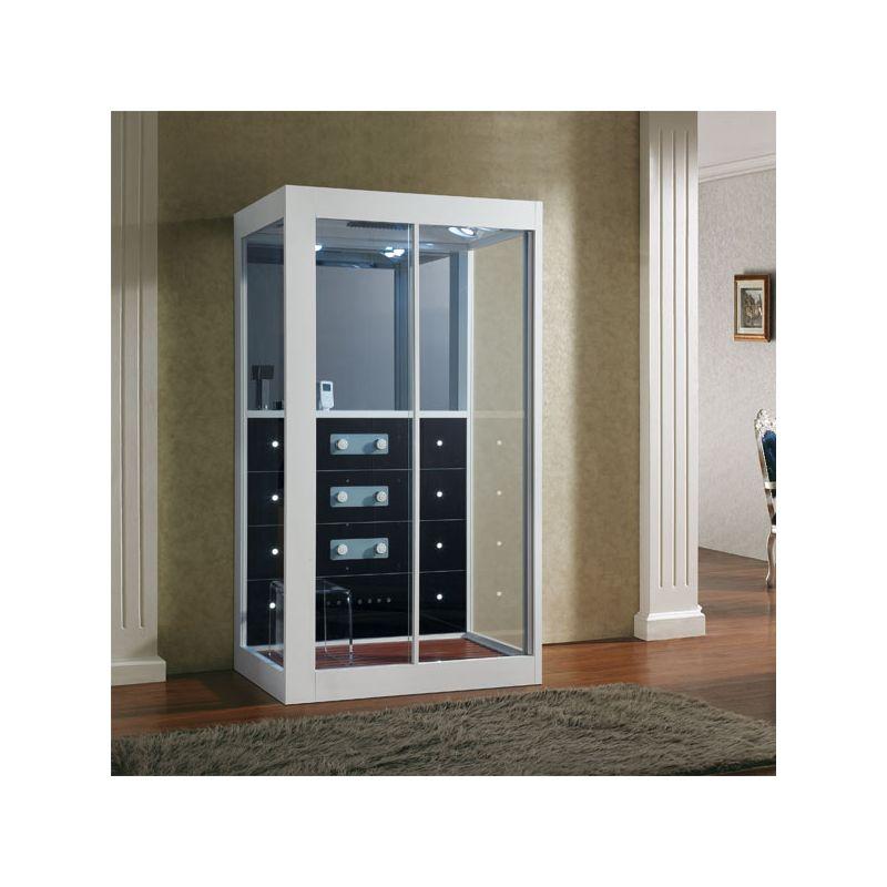 cabine de douche hammam karera. Black Bedroom Furniture Sets. Home Design Ideas
