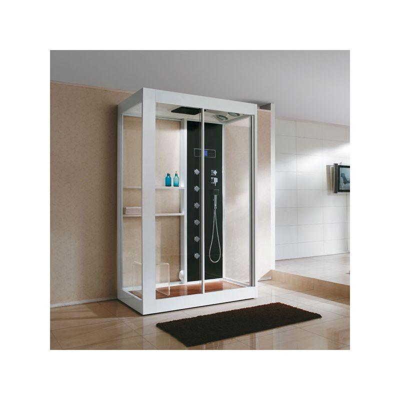 Large cabine de douche avec parois vitrées Malaisie