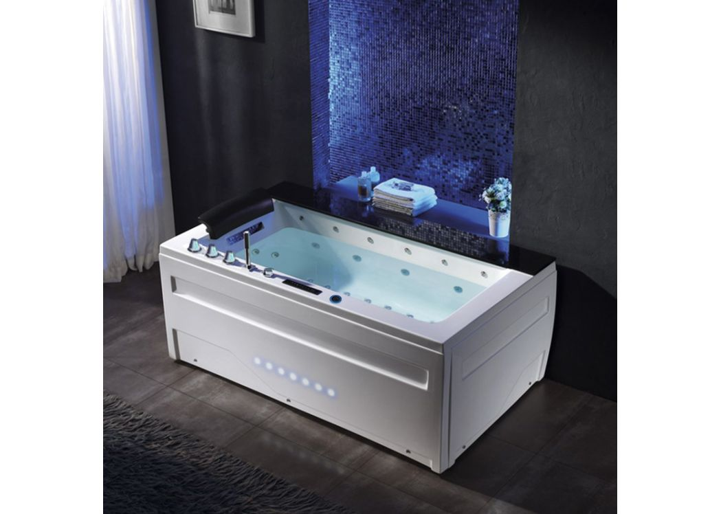 baignoire baln o rectangulaire majorque baignoire baln o rectangulaire 37 jets distribain. Black Bedroom Furniture Sets. Home Design Ideas
