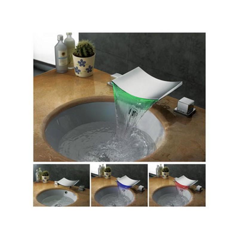 Robinet mélangeur cascade design SDLPT06