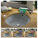 Robinet mélangeur LED cascade SDLPT09