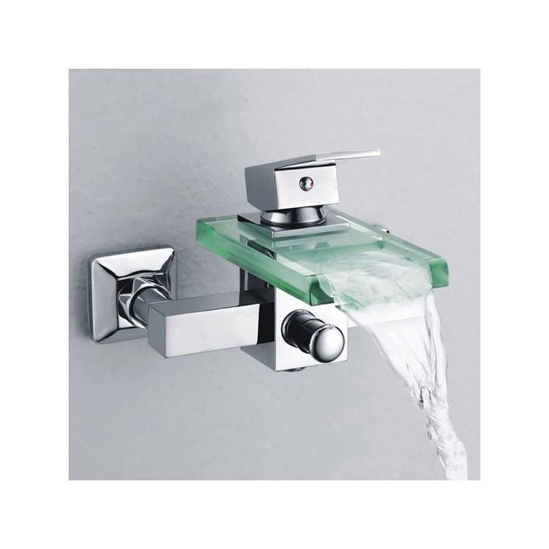 Robinet cascade mural SDS001C, robinet cascade mural pour baignoire ...
