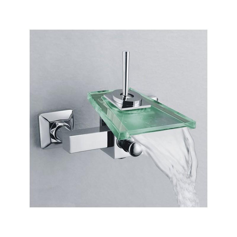 Robinetterie mitigeur de baignoire, robinet à cascade pour baignoire  SDS006C - Distribain