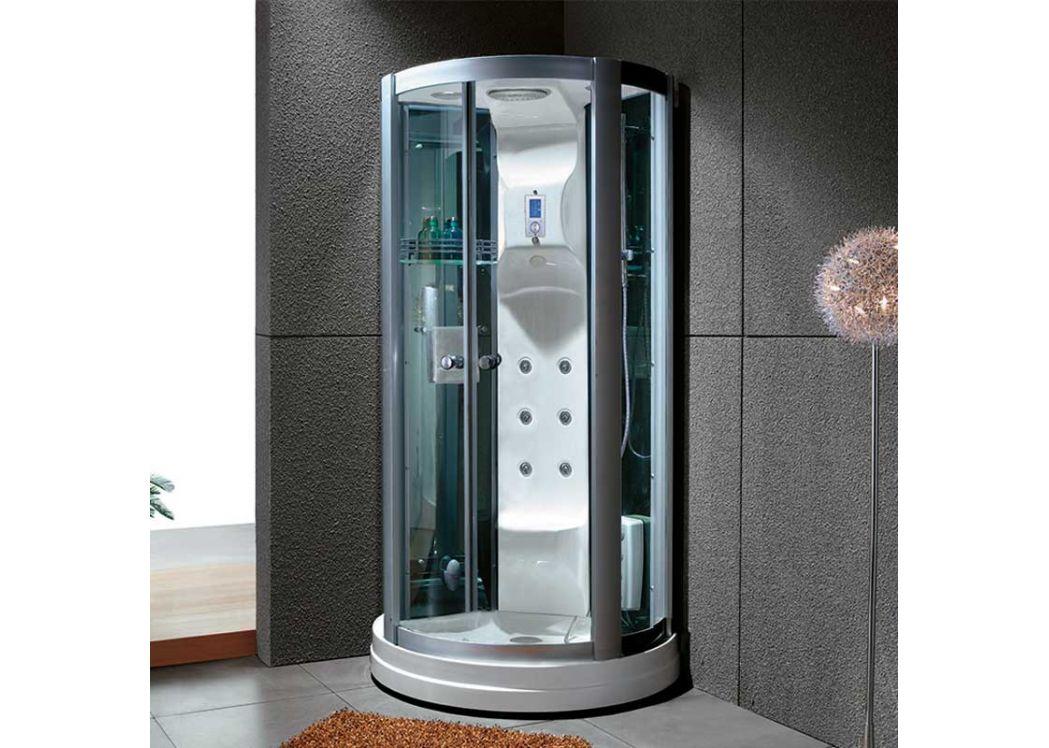 cabine de douche 95x95 calypso cabine de douche 95x95 en quart de rond distribain. Black Bedroom Furniture Sets. Home Design Ideas