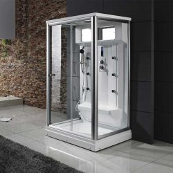 Cabine de douche avec large banc Osis