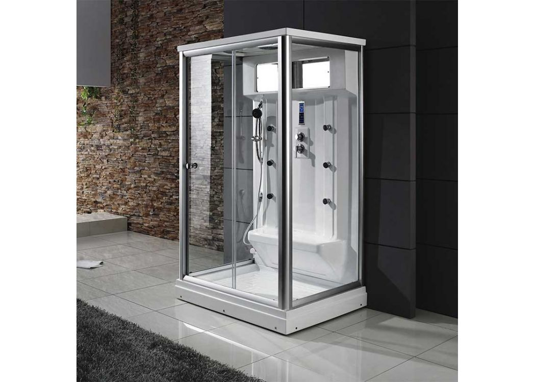 cabine de douche multifonction hammam osis cabine de douche large 120x90 distribain. Black Bedroom Furniture Sets. Home Design Ideas