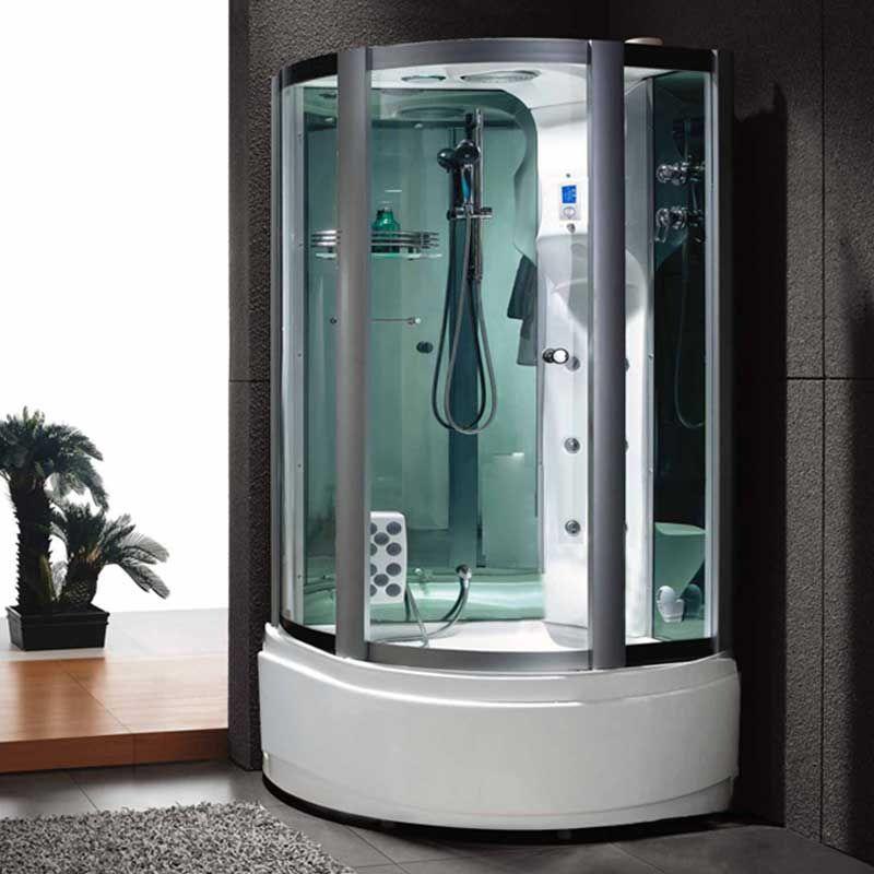 Cabine de douche hammam D-Venus avec parois miroirs