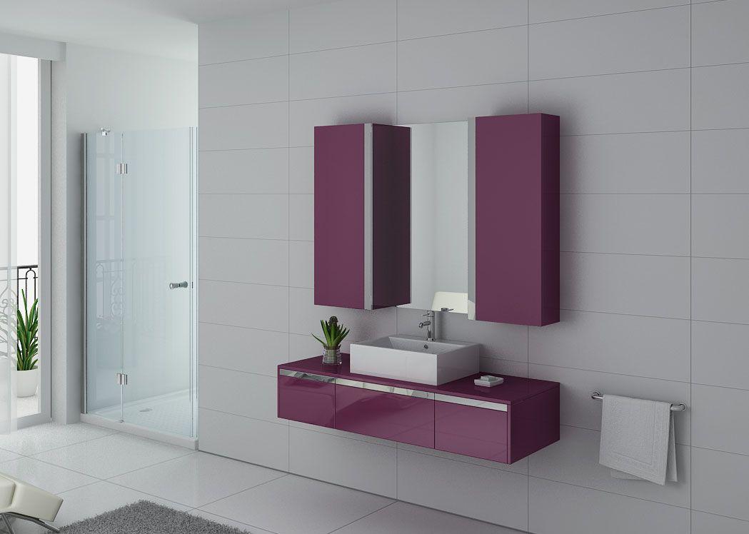 Meuble 1 vasque pour salle de bain meuble 1 vasque 140 cm meuble 1 vasque dis9650 distribain - Meuble 1 vasque ...