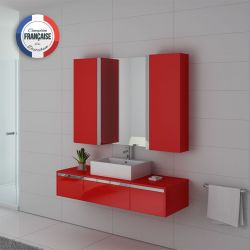 Ensemble simple vasque DIS9650 Coquelicot
