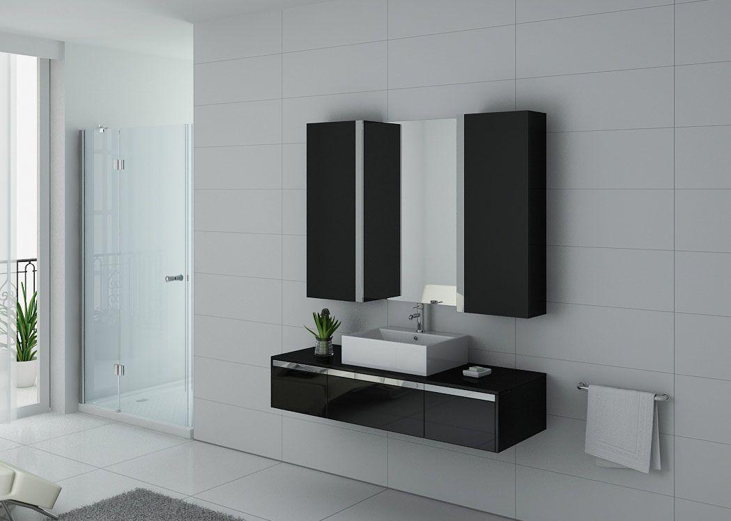 meuble de salle de bain 140 cm simple vasque meuble de salle de bain 140 cm dis9650n distribain. Black Bedroom Furniture Sets. Home Design Ideas