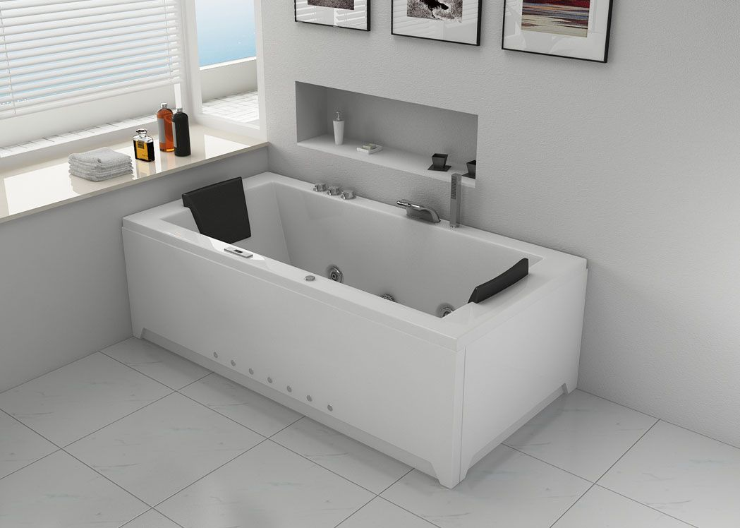 baignoire rectangulaire baln o london baignoire baln o rectangulaire 32 jets distribain. Black Bedroom Furniture Sets. Home Design Ideas