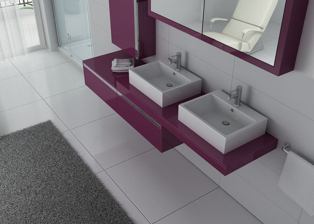 Ensemble double vasque for Ensemble meuble double vasque