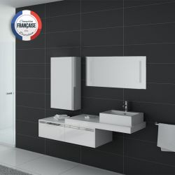 Ensemble simple vasque DIS9550 Blanc
