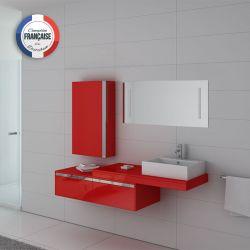 Ensemble simple vasque DIS9550 Coquelicot