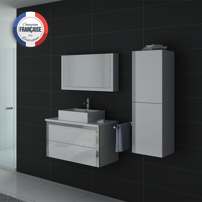 Ensemble de salle de bains DIS026-900 Blanc