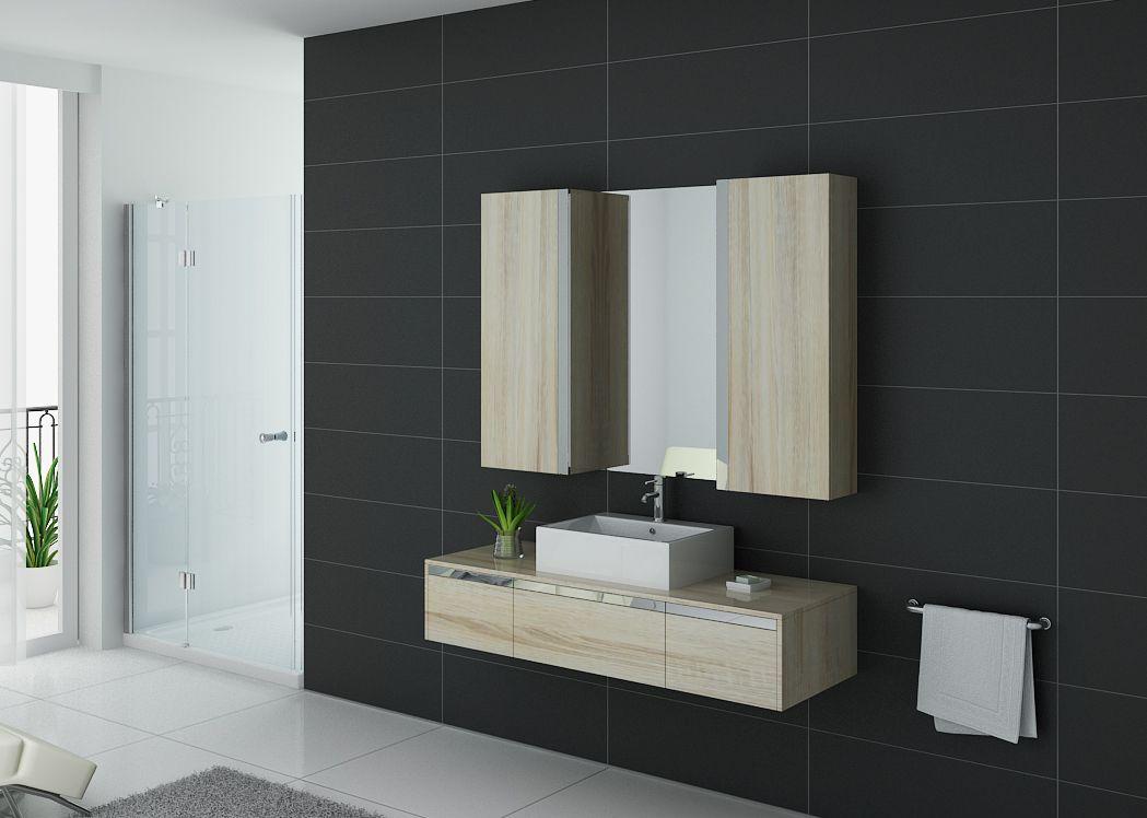 ensemble meuble de salle de bain 1 vasque meuble simple vasque scandinave dis9650sc distribain. Black Bedroom Furniture Sets. Home Design Ideas
